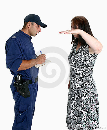 Free Security Guard And Victim Stock Images - 1731814