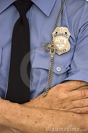 Security Guard Detail, Badge, Whistle, Uniform