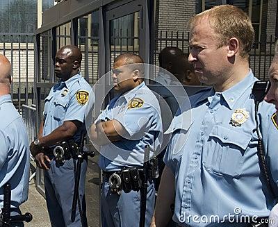 UN Security Guards Editorial Photo