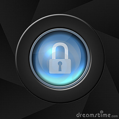 Free Security Icon Royalty Free Stock Image - 4312876