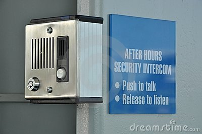 Security intercom