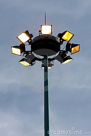 Free Security Lights Royalty Free Stock Images - 12586489