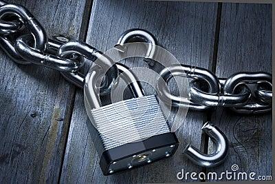Security Lock Chains Broken
