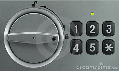 Security lock keypad