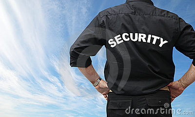 No Credit Check Credit Cards >> Security Man Royalty Free Stock Image - Image: 5897936