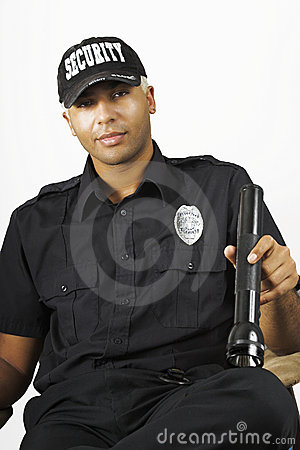 Free Security Officer Stock Image - 3177511