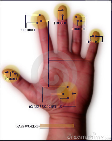 Security Scan Hand