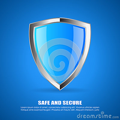 Free Security Shield Icon Royalty Free Stock Image - 47948376