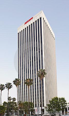 Sedi dello scomparto di varietà a Los Angeles Fotografia Stock Editoriale