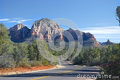 Sedona, Arizona road