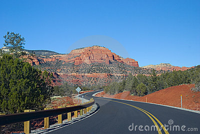 Sedona, Arizona road
