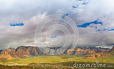Sedona Mountain Range