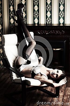 Seductive girl