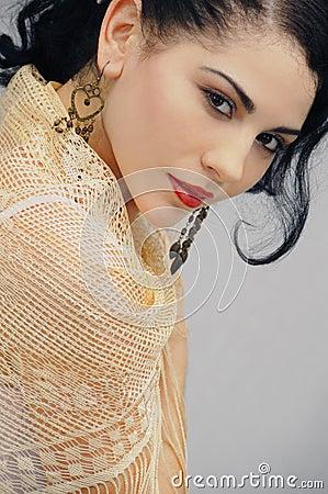 Free Seductive Hispanic Woman Stock Images - 4901124