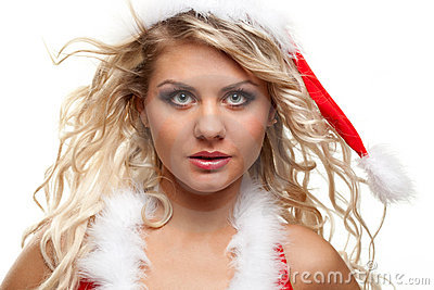 Seductive santa helper