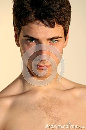 Seductive sexy men / Beautiful italian model