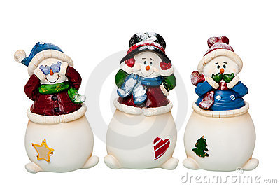 See, Hear, Speak no Evil Snowman
