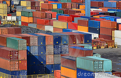 See port container yard