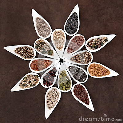 Free Seed Food Platter Royalty Free Stock Images - 40534749