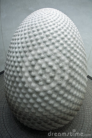 The seed sculpture at Eden Project