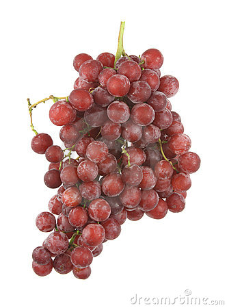 Free Seedless Red Grapes Royalty Free Stock Photos - 9868688