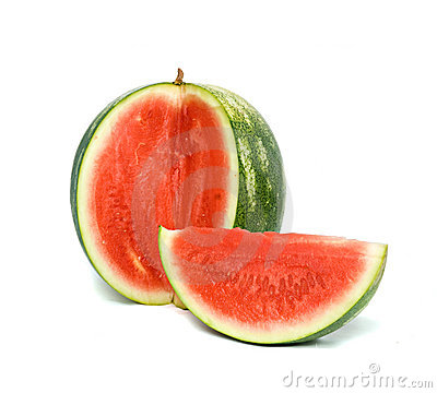 Free Seedless Watermelon Royalty Free Stock Images - 9893849