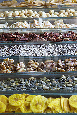 Seeds And Dry Fruits Royalty Free Stock Photos - Image: 24602828