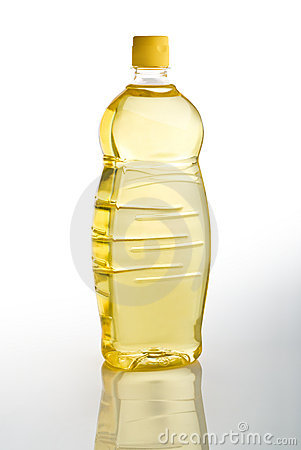 Seeds oil bottle