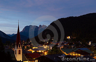 Seefeld Summer Evening