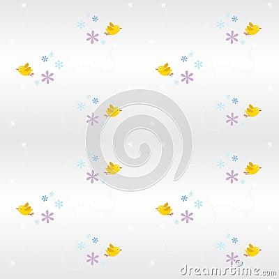 Free Seemless Pattern- Bird Stock Photo - 4585200