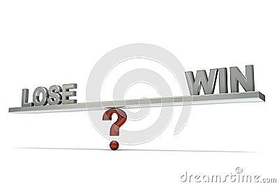 Seesaw lose win