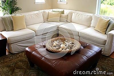 Seeseiten-Häuschenwohnzimmer