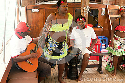 Sega, Mauritius island Editorial Image