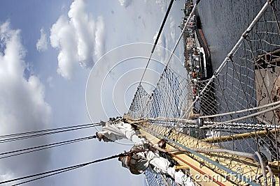 Segel am St- Petersburgpano
