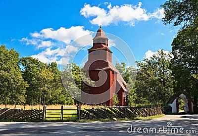 Seglora Church in Skansen