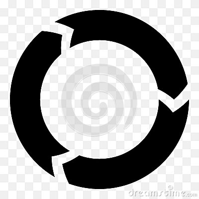 Free Segmented Circle Arrow. Circular Arrow Icon. Process, Progres, R Stock Images - 81813364