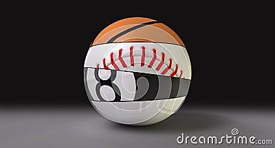 Segmented Round Sports Ball