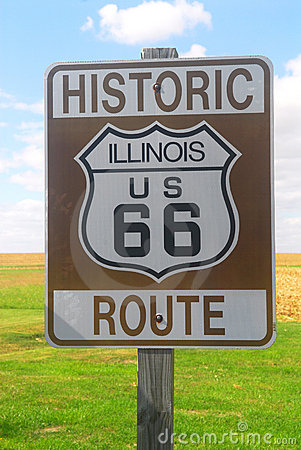 Segno dell itinerario 66 dell Illinois