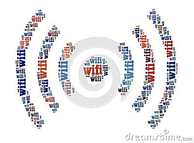 Segno di Wifi