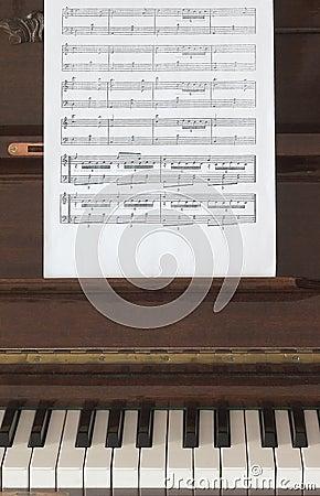 Segno musicale e piano