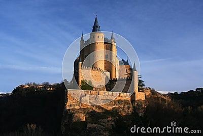 城堡城堡segovia西班牙