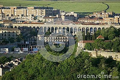 Segovia akweduktu Hiszpanii