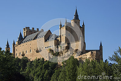 Segovia - The Alcazar - Spain