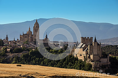 Segovia Cathedral and Alcazar - Spain