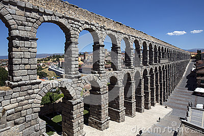 Segovia - Roman Aquaduct - Spain