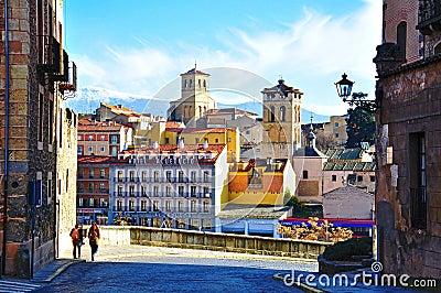 Segovia, Spain Editorial Photography
