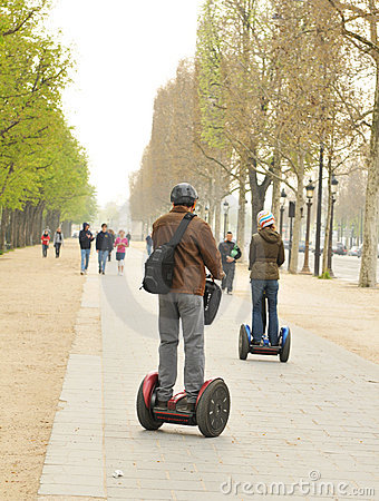 Segway Editorial Photography