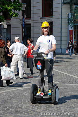 Segway Editorial Stock Image