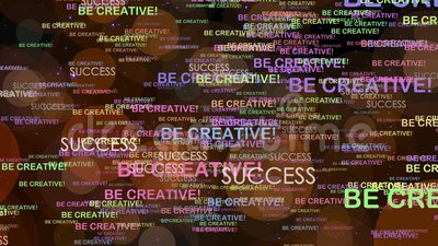 Seien Sie kreativ lizenzfreie abbildung