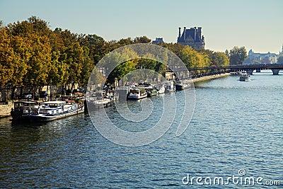 Seine Riverbank, Paris Stock Photo - Image: 2